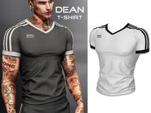Mossu - Dean T-Shirt - White