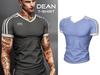 Mossu - Dean T-Shirt - Light Blue