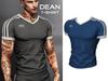 Mossu - Dean T-Shirt - Blue