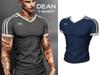 Mossu - Dean T-Shirt - Dark Blue