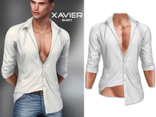 Mossu - Xavier.Shirt - White (Wear)