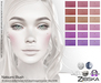 Zibska ~ Natsumi Blush in 18 colors with Lelutka, Genus, LAQ, Catwa and Omega appliers, universal tattoo BOM