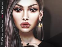 TAOX TaTToo Face Lips Bite Me Unisex & BoM [ Bakes on Mesh ] & Appliers Omega Catwa Lelutka Vista Signature Niramyth Ada