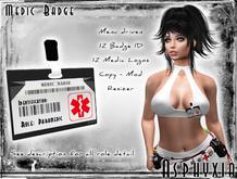 Asphyxia Medic Badge