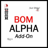 BOM Add-on Alpha 82A-83A for Jeans Waist back, Thigh, and Inseams