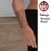 WEF Tatuaje Mandala Sim ple (antebrazo)