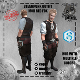 SW - Steampunk Outfit Signature Mod Red Fox