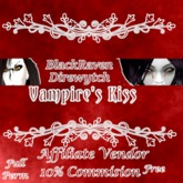 Vampire's Kiss Affiliate Vendor 10% Commission