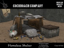 [COCKROACH] Homeless Shelter - Mesh