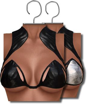 [[ Masoom ]] Leia Top - Black- Legacy Body, Lara, Freya & Hourglass