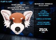 F&L - Mesh Red Panda Ears - Modder's Kit