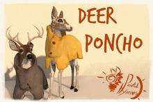 [PH]Deer Poncho
