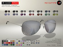 A&D Clothing - Glasses -TopGun-  Deluxe