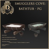 [Ds] SMUGGLERS COVE Bathtub PG
