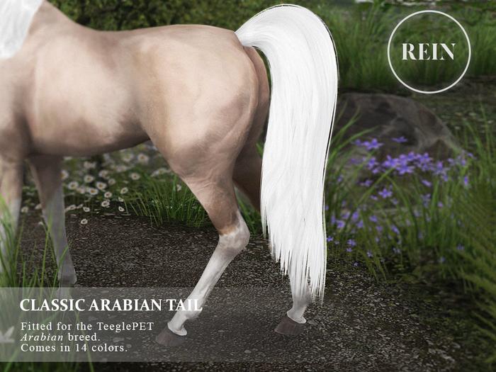 REIN - TeeglePet Classic Arabian Tail