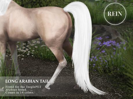 REIN - TeeglePet Long Arabian Tail