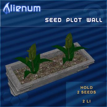 Alienum Wall Seed Plot