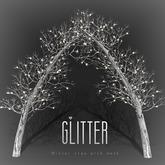 Glitter Winter Tree Arch Mesh LI=2.5 with lights