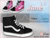 June 2.0 - Sk8 Sneakers x2