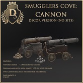 [Ds] SMUGGLERS COVE Cannon DECOR