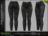 YARA FEMALE PANTS BLACK SINGLE COLOR - MESH - Maitreya Lara, Belleza Freya, Legacy - FashionNatic