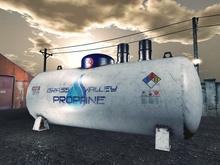 Industrial Propane Tank - Mesh - 5 prim