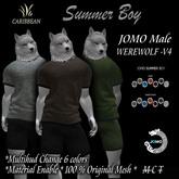 JOMO FURRY SUMMER BOY WEREWOLF V4 MALE BOX