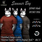 JOMO FURRY SUMMER BOY HUSKY MALE BOX