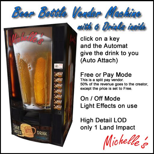 Michelle's Beer Vendor Machine