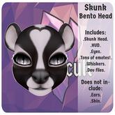 +SG+ Skunk Head
