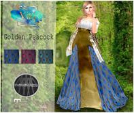 .Viki. Golden Peacock Dress (Wear)