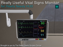 Really Useful Vital Signs Monitor