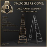 [Ds] SMUGGLERS COVE Orchard Ladder DECOR