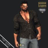 MCM - Gift Shirt Black pois AESTHETIC