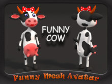 FUNNY COW GIRL