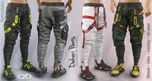 DAKARI MALE FATPACK PANTS , MESH - SIGNATURE GIANNI, LEGACY, BELLEZA JAKE - FashionNatic