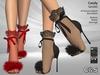 C&S Candi Heels & Tights for Maitreya Lara, Slink, Belleza. 40 Textures HUD. Mix & Macht