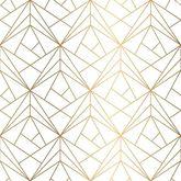Luxurious White & Gold Texture - Full Perm