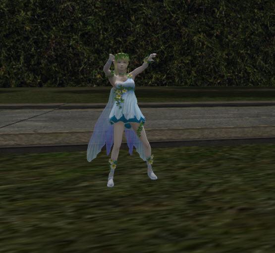 ANIMESHOP BOX TINY BLUE FAIRY GIRL