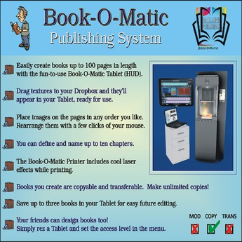 Book-O-Matic Publishing System