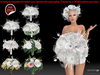[SuXue Mesh] FATPACK Pure Wedding Bouquet HUD 2 AO Resizable 1 Bonus