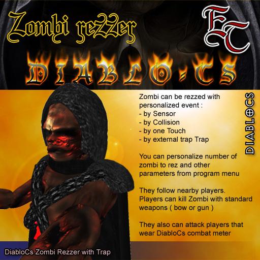 DIABLOCS Zombie Rezzer 2.0 rez