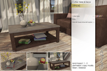 Sway's [Vince] Coffee Table & Decor