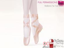 Full Perm Mesh Ballerina Tip Toe Shoes For Maitreya Slink Belleza Ocacin
