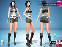 Full Perm Metal Lower Arm Shield For Maitreya Slink Belleza Tonic Ocacin Classic Avatars