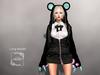 AMERIE - Long Hoodie(BEAR)