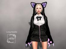 AMERIE - Long Hoodie(KITTY)