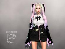 AMERIE - Long Hoodie(RABBIT)