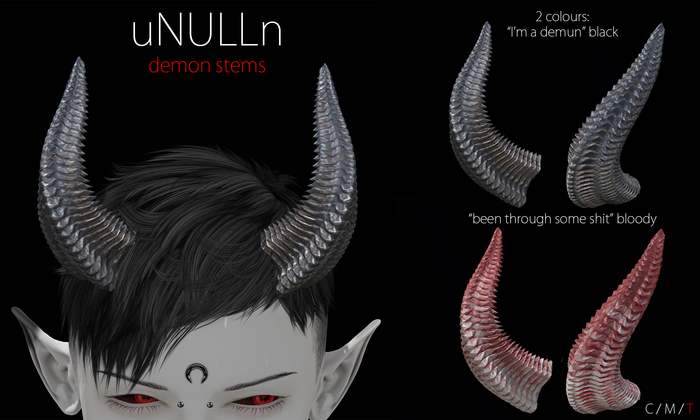 uNULLn - demon stems   (+)