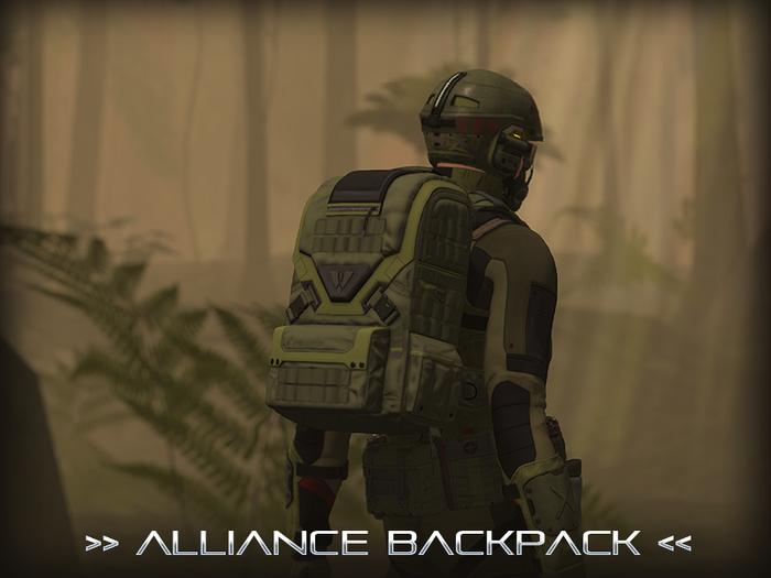 [P.0.E] - Alliance Backpack